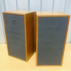 Vintage Thorn / Marconiphone 15Ω Bookshelf Speakers *Tested* Great Sound