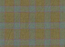 52464 Tweed Escocés Tela 100% Lana Pura Piezas Por Metro