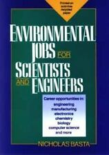 Environmental Jobs for Scientists and Engineers-ExLibrary