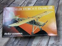 Fieseler Storch Fi 156/MS-500 Heller 1/72 80227 Model Kit Contents Sealed