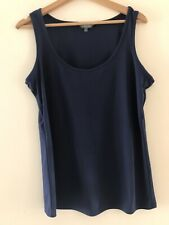 Navy Smart Top, Collection limitée, m&s, Taille 16 < Rc291