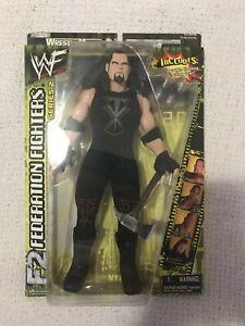 "WWE WWF Undertaker 12"" Jakks Federation Fighters Series 2 Action Figure NIB RARE"