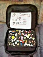 180 DIFFRNT TRADERS ALREADY IN A DISNEY PIN BAG READY TO GO & TRADE LIKE A PRO!