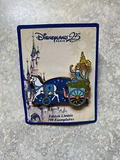 Dlp Dlrp Disney Paris 25th Anniversary Cinderella Parade Series Pin Le 700