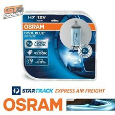H7 OSRAM Cool Blue Intense 4200k Halogen Headlight Globes 64210CBI-HCB (2 PACK)