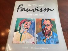 """1976 Vintage - The """"Wild Beasts"""" Fauvism and Its Affinities by John Elderfield"""