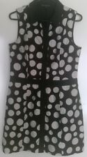 **CUE** women's size 12 short spotted dress