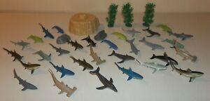 Lot of Underwater Sea / Ocean Animals - Toys R Us Animal Planet - 31 Pieces
