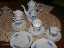 Winterling Kaffeeservie Andrea in indisch blau