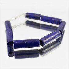 Real 265.00 Cts Earth Mined Blue Lapis Lazuli Untreated Beads Handmade Bracelet