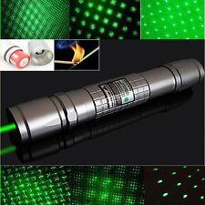 High Power Focus Green Laser Pointer Pen Beam Light 5mw Burning 532nm 5MW