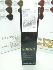 CROWN, COLOR PROFESSIONAL!  CREMA COLORANTE PER CAPELLI 100ml  X10PZ.