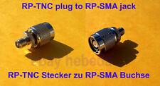 RP-TNC Plug male hembra to RP-SMA jack macho female wrt54g cisco Linksys