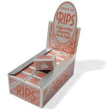 Rips Rolling Paper - Red Regular 24 Pack