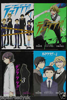 Durarara manga 1~4 Complete Set 2009 japan book