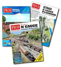More details for bundle of railway modelling books/catalogues for beginners in n scale from peco