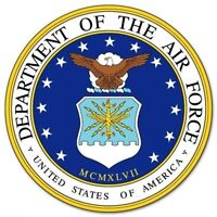 US DEPARTMENT OF THE AIR FORCE STICKER / DECAL