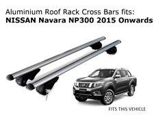 Aluminium Roof Rack Cross Bars fits Nissan Navara NP300 with roof rails 2015 +