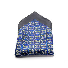 Lodge Gift Craft Masonic 100% Silk Pocket Handkerchief hankey Masons Regalia