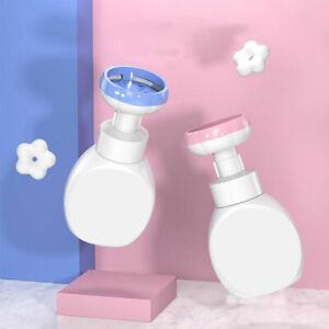 Flower Soap Dispenser Stamp Hand Soap Pump Bottle Floral Foam Bubbler Hands^lk