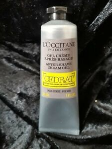L'Occitane Cap Cedrat After Shave Cream Gel 30ml Travel Size NEW