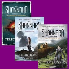 Terry Brooks - Die Shannara-Chroniken Band 1+2+3 im Set - Portofrei