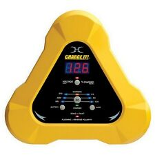 Clore 4512 CHARGE IT! Yellow 12/6/2-Amp 12-Volt Battery Charger