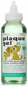 Petkin Plaque Gel Teeth Cleaning with Mint Flavour - 120 ml / 4.05 oz