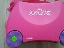 Trunk Ride-On Suitcase - Trixie Pink