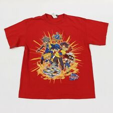 New listing Vtg 90s Beyblade Anime Cartoon Red Character T Shirt Men's Small