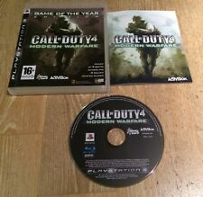 Call of Duty 4 Modern Warfare Game of the Year - Playstation 3 PS3 Game