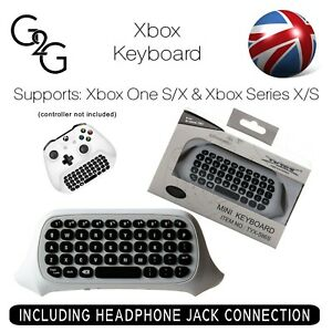 Xbox One S/X Series X/S White Mini Wireless Chatpad Message Keyboard Controller