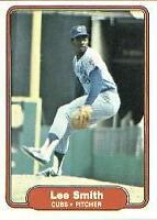 1982 Fleer Baseball Card #603 Lee Smith Rookie