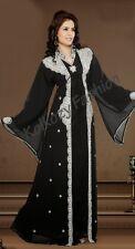 ELEGANT Moroccan Kaftan Long Dress Abaya Islamic Jilbab Kheleeji Arabian Caftan9