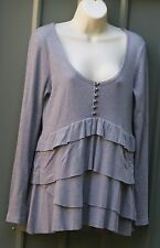 NEXT grey tunic top size 12