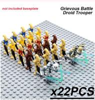 22 Pcs Minifigures -Star Wars Character Battle Droid Trooper Robot Lego MOC