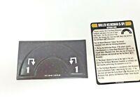 Star Trek Attack Wing OP Skilled Helmsman Token / Piece & Reference card