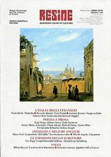 RESINE ANNO XXVII, n° 108 2006 Ezra Pound, Zavanone Faggi Buzzoni Fenga Rota