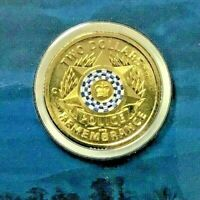 """$2.00 2019 $2 Coin Police Remembrance """"C"""" Mint Mark (perfect carded coin) Unc"""