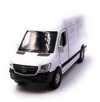 Mercedes Benz Sprinter Panel Van Coche a Escala Blanco Auto 1 :3 4 (con