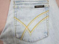 WILLIAM RAST WOMENS SAVOY BOOTCUT FIT FLARE LEG LIGHT BLUE JEANS SIZE 30 NEW