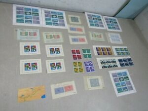 Nystamps Switzerland much mint NH stamp block souvenir sheet collection