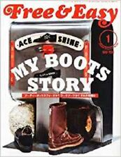 Free & Easy 2012 1 Men's Fashion Magazine Japan Book MY BOOTS STORY