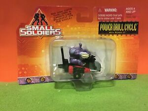 SMALL SOLDIERS - POWER DRILL CYCLE - 1998 DIECAST METAL VEHICLE + FIGURES MOC
