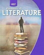 Holt Elements of Literature: Holt Elements of Literature Student Edition Grade 9