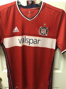 Michael Harrington Signed Autographed 2015 GAME USED Chicago Fire Jersey **COA