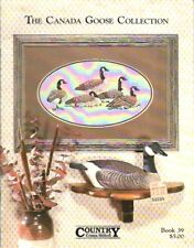 The Canada Goose Collection in Cross Stitch Bk 39 Vtg 1987 Country Cross Stitch