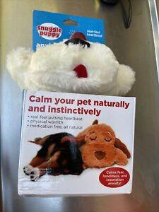 Snuggle Puppy Anxiety Solution Pulsing Heartbeat Dog Calming Sleep Companion