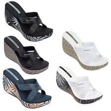 Ipanema Cruise III & Lipstick Straps Platform Wedge Strapy Print Sandals