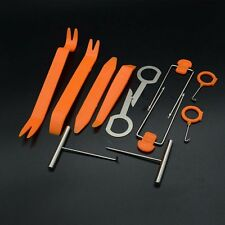 12pc Universal Panel Removal Open Pry Tools Kit Car Dash Door Radio Trim Panel